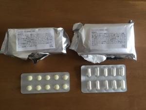 ゼファルリン袋・錠剤