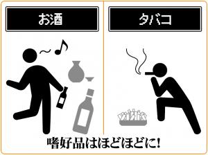 アルコール・タバコを摂取しすぎると男性機能が低下する