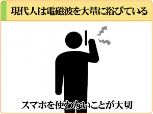 電磁波は男性生殖器に悪影響を及ぼすのでスマホを使わないことが大切である